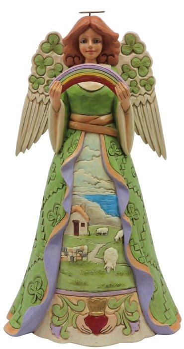Jim Shore 6008403 Irish Angel Figurine