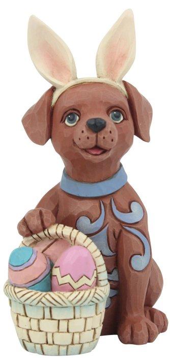 Jim Shore 6008411 Easter Dog Mini Figurine