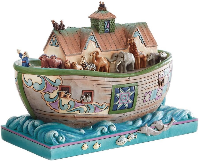 Jim Shore 6008413 Noah's Ark Figurine