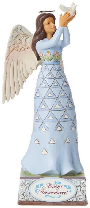 Jim Shore 6008415N Bereavement Angel Figurine