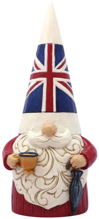 Jim Shore 6008422 British Gnome Figurine