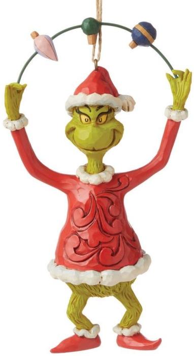 Jim Shore Grinch 6008896N Grinch Juggling Ornament
