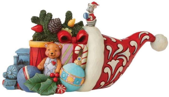 Jim Shore 6008912N Christmas Cornucopia Figurine