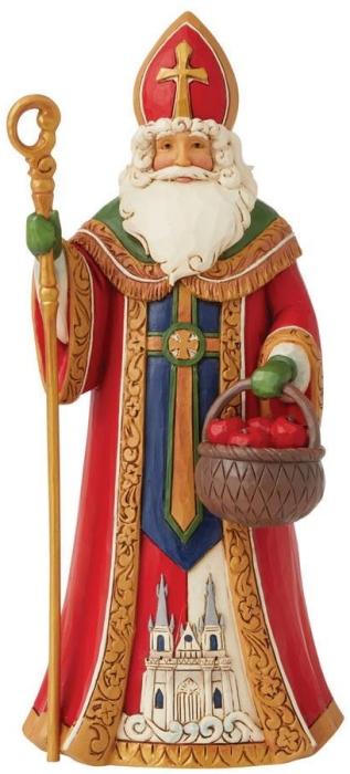 Jim Shore 6008914N Czech Santa Figurine