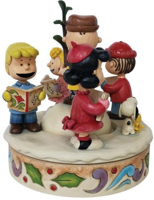 Jim Shore Peanuts 6008958N Charlie Brown and Friends Figurine