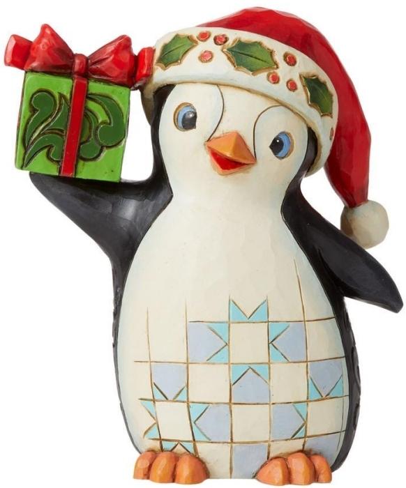 Jim Shore 6009007N Christmas Penguin Figurine