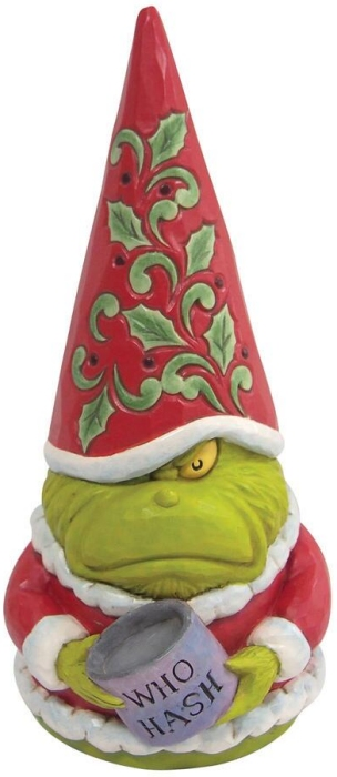 Jim Shore Grinch 6009202 Grinch with Who Hash Gnome