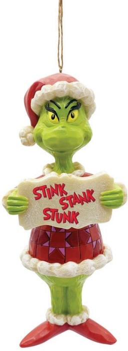 Jim Shore Grinch 6009208 Grinch Stink Stank Stunk Ornament