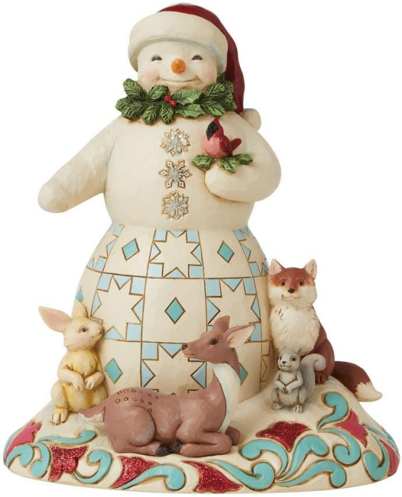 Jim Shore 6009483N Wonderland Snowman Figurine