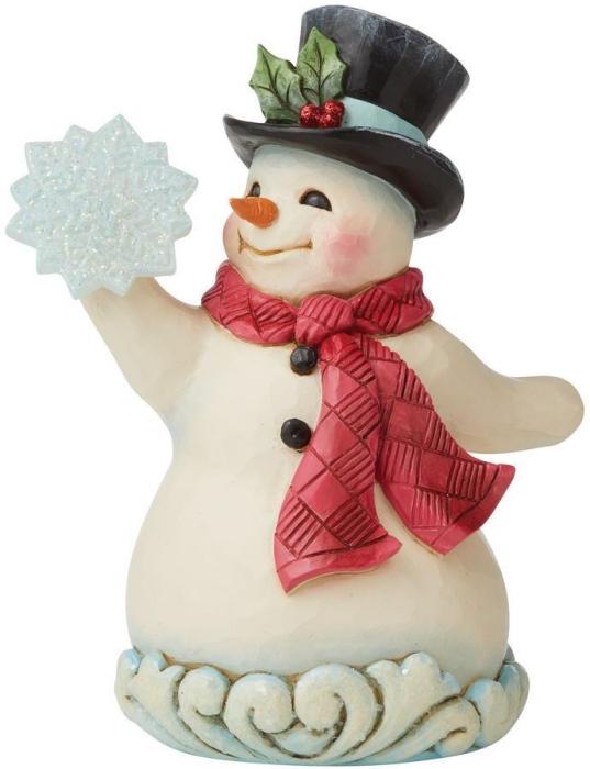 Jim Shore 6009486 Wonderland Snowman Figurine