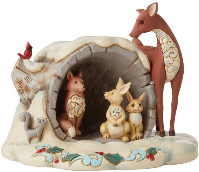Jim Shore 6009487N Wonderland Animals Figurine
