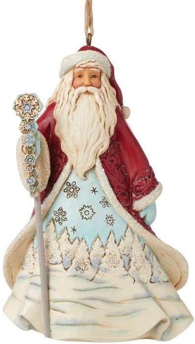 Jim Shore 6009488 Wonderland Santa Ornament
