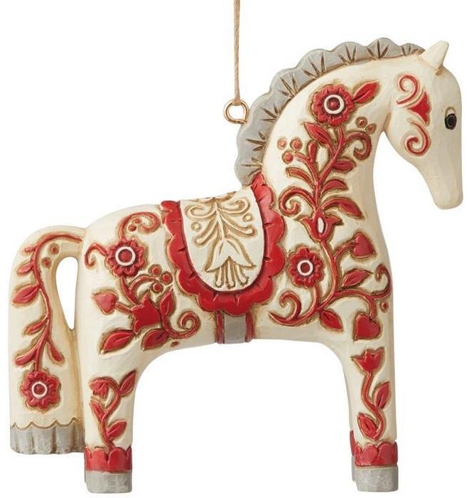 Jim Shore 6009503N Nordic Noel Dala Ornament