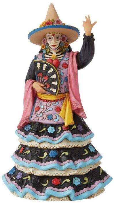 Jim Shore 6009508 Day Of The Dead Dancer Figurine