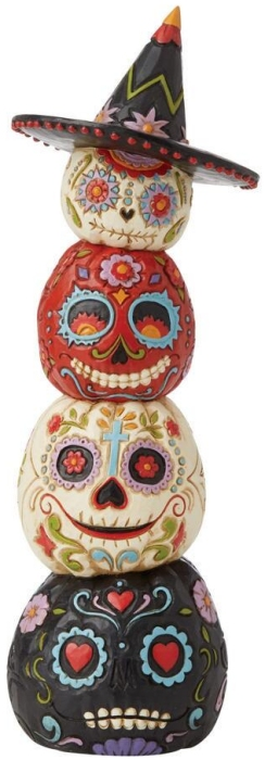 Jim Shore 6009509N Stacked Day Of The Dead Figurine