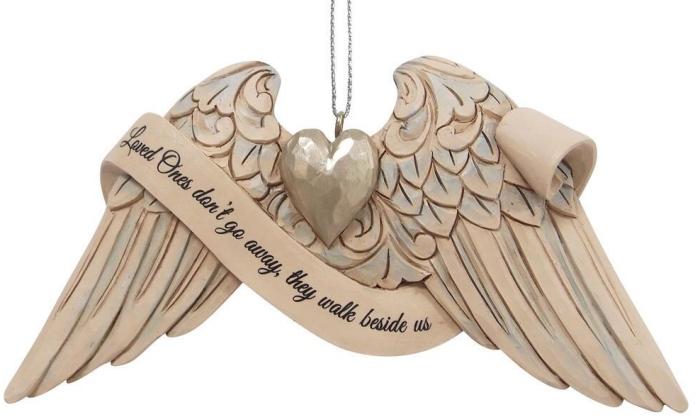 Jim Shore 6009571 Angel Wings Bereavement Ornament