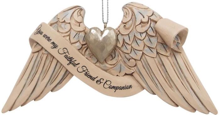 Jim Shore 6009572N Angel Wings Pet Bereavement Ornament