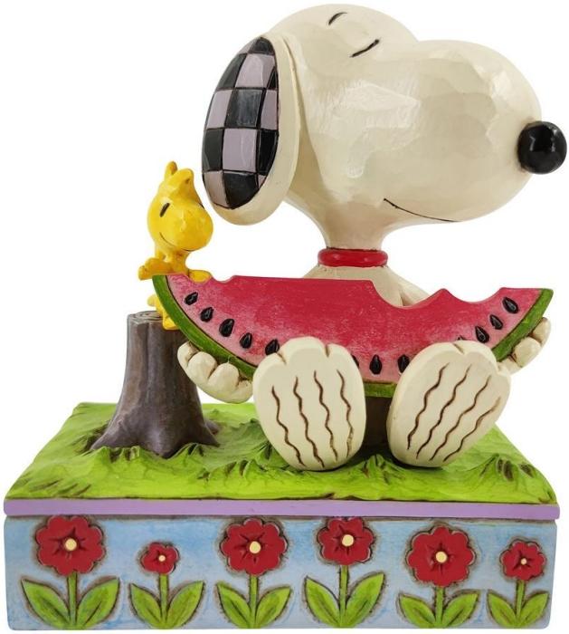 Jim Shore Peanuts 6010113 Snoopy & Woodstock Figurine