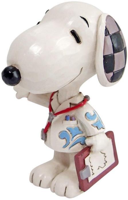 Jim Shore Peanuts 6010119 Snoopy Medical Professional Figurine