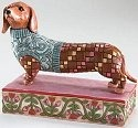 Jim Shore 4004851 Dachshund Figurine