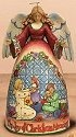 Jim Shore 4005325 Joy of Christmas Morning Figurine