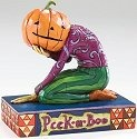 Jim Shore 4005339 Peek-A-Boo Figurine