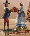 Jim Shore 4007980 We Give Thanks Figurine
