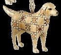 Jim Shore 4008108 Golden Retriever Ornament