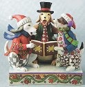 Jim Shore 4010898 Caroling Dogs