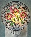 Jim Shore 4012610 Three Daisies Night Light