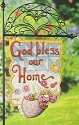 Jim Shore 4012615 Angel & Flowers Sign