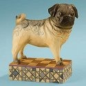 Jim Shore 4013023 Sarge the Pug Figurine