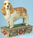 Jim Shore 4013024 Sadie the Cocker Spaniel Figurine