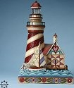 Jim Shore 4013497 Solar Powered Lighthouse Statue Statue