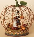 Jim Shore 4014974 Wire Pumpkin Centerpiece Centerpiece