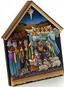 Jim Shore 4015692 Nativity Plaque Wall Decor