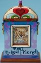 Jim Shore 4016963 Rest My Loyal Friend Bereavement Urn