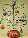 Jim Shore 4017592 Frightful w 8 Ornaments Tree