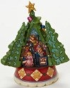 Jim Shore 4019325 Christmas Tree Hidden Scene