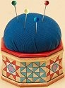Jim Shore 4020595 Octagon Pin Cushion