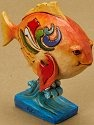 Jim Shore 4021447 Mini Fish Figurine