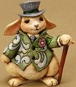 Jim Shore 4021448 Mini Rabbit Figurine