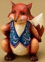 Jim Shore 4021449 Mini Fox Figurine