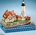 Jim Shore 4022552 Pride of Maine Lighted Figurine