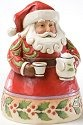 Jim Shore 4022910 Cup of Christmas Cheer Figurine