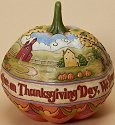 Jim Shore 4023440 Let us Pray Thanksgiving Day Figurine