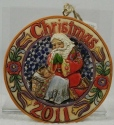 Jim Shore 4023460 Annual 2011 Dated Ornament Every Knee Shall Bow