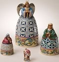 Jim Shore 4024367 Nativity Nesting Boxes
