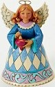 Jim Shore 4025628 Mini Christmas Angel Figurine