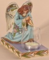 Jim Shore 4026854 Forever Safe in Heaven's Light Candleholder